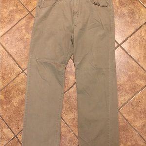 Two pairs men's Khakis